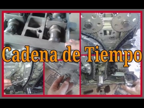 CADENA DE TIEMPO Ford 2.3 Duratec #10 - YouTube