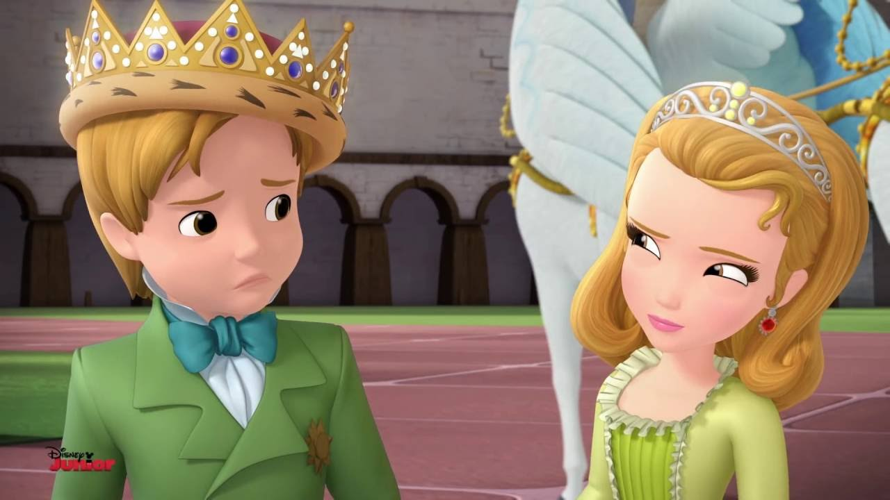 Princesse sofia le roi james youtube - Jeux de princesse sofia sirene gratuit ...
