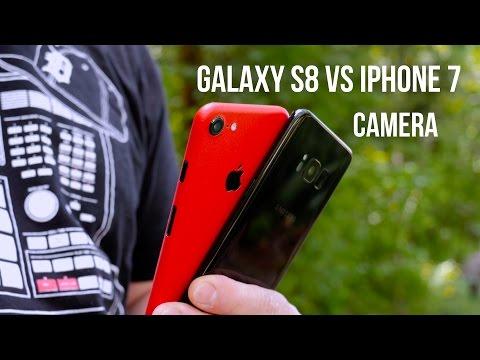 Samsung Galaxy S8 Vs IPhone 7 Camera Comparison!