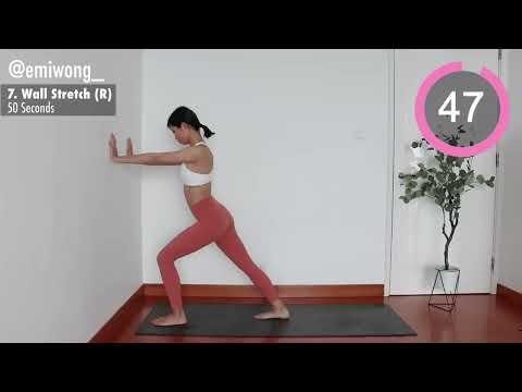 SLIM CALVES ! Quick & Easy: 11 Min Daily Stretch ~ Emi