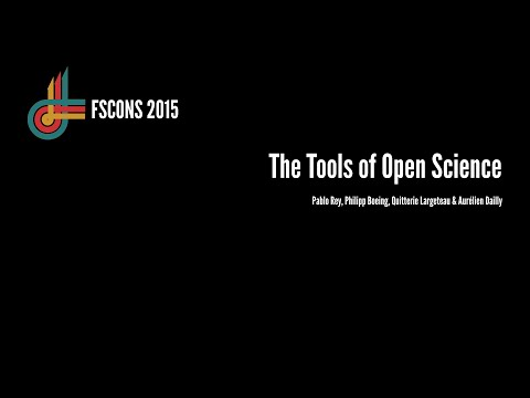 The Tools of Open Science