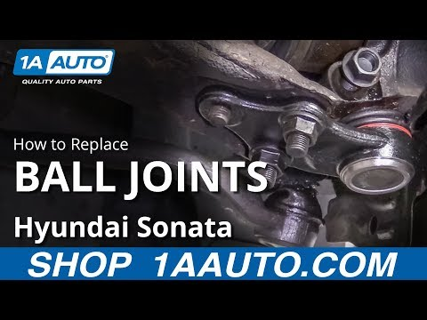 How to Replace Lower Ball Joint 10-14 Hyundai Sonata