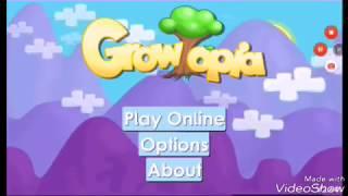 Tutorial cara membuat akun atau id growtopia park 1