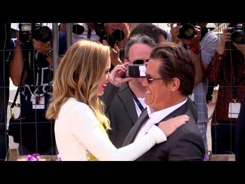 Josh Brolin, Benicio del Toro and Emily Blunt at Sicario photcall in Cannes