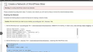 Set up WordPress Multisite on localhost with MAMP Pro