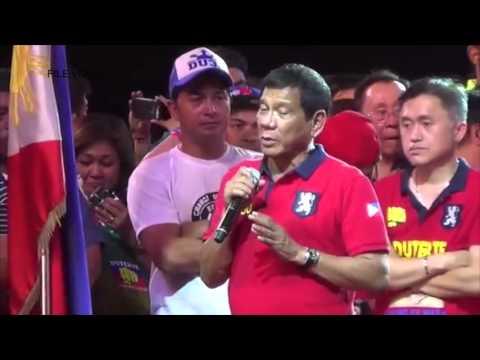 Aquino speaks on Duterte