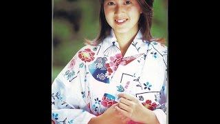森尾由美の画像を見ながら「となりの町のお嬢さん」を聴く動画.