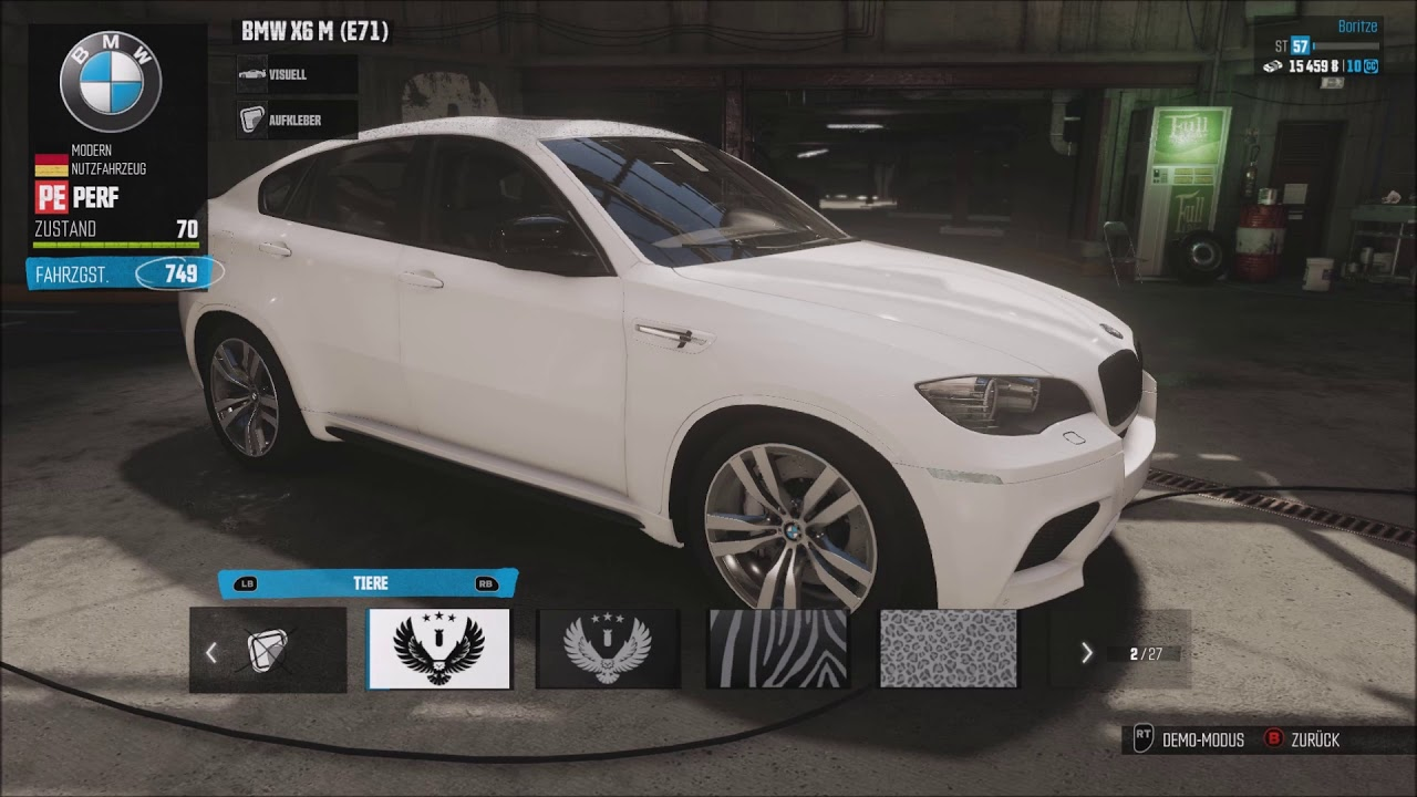 The Crew Bmw X6 M Performance Tuning Youtube