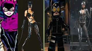 Evolution of Catwoman In Games (1992 - 2018)