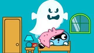 Малыш Панго НОЧНЫЕ страхи Пожарный Лис спасает друзей Игровой мультик для детей
