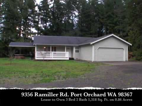 Lease to Own this Port Orchard Home on Nearly One Acre