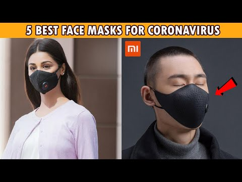5 Best Face Masks To Protect from Coronavirus On Amazon And Aliexpress | Best Mask Against COVID-19