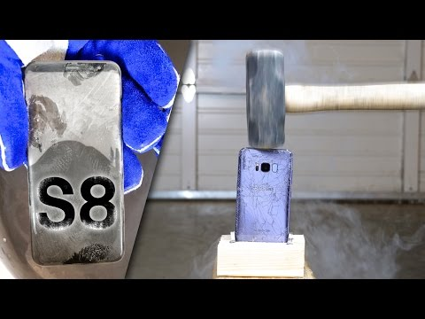 Liquid Nitrogen vs Samsung Galaxy S8 & iPhone 7! What Happens?
