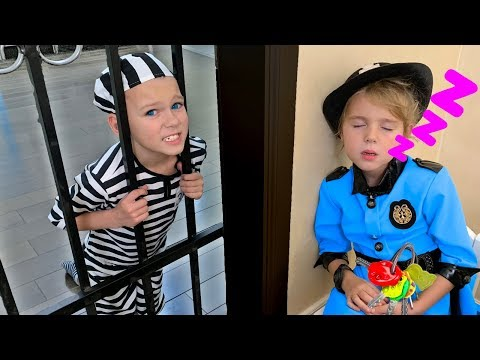 Mania Pretend Play Police Kids Toys