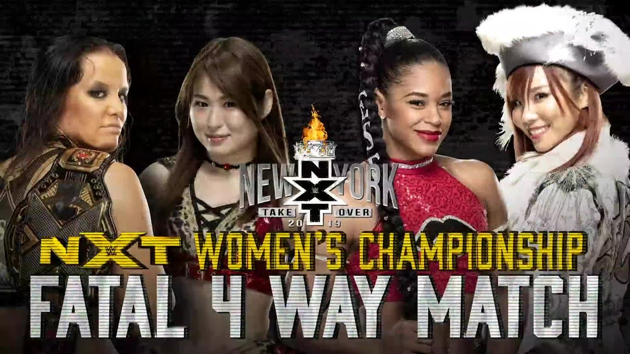 Download NXT Women's Title on the line in Fatal 4-Way Match at TakeOver: New York