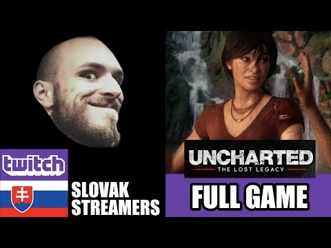 Restt - 24-hodinový stream - 🔴 UNCHARTED: The Lost Legacy - Full gameplay