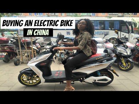 BUYING AN E-BIKE IN CHINA.