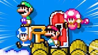 Mario Maker 2 but I'm incredibly toxic