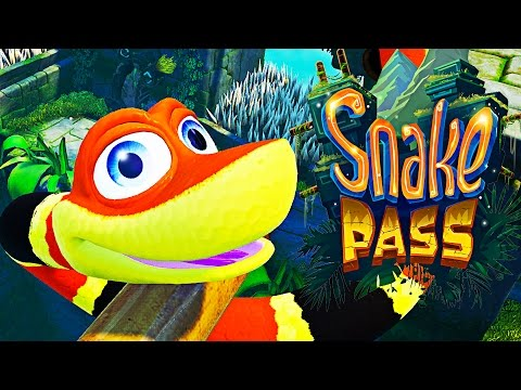 WARNING: MOST SATISFYING GAME EVER | Snake Pass - Part 1