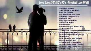 The best of love songs 70's 80's 90's greatest love of all time  best of english love songs