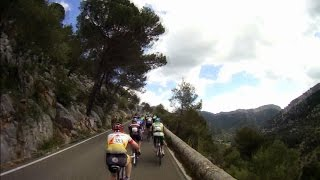 60 Minute Intervall Cycling Trainer Workout Majorca Full HD No Sound