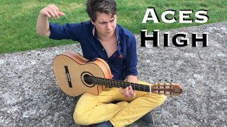 Aces High (Iron Maiden) Acoustic - Classical Fingerstyle Guitar by Thomas Zwijsen