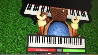 Roblox piano I did by myself song are in disc