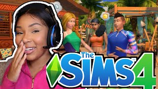 I PLAYED SIMS FOR 24 HOURS \u0026 LOOK WHAT HAPPENED....