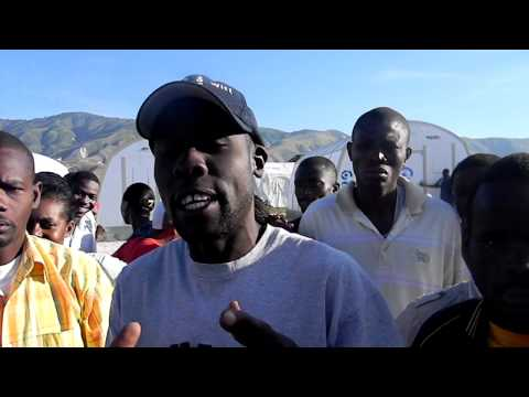 Haiti elections: Not being able to vote at Camp Corail