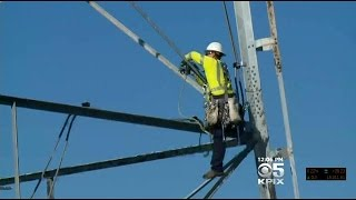 Solar Powered Lights On San Mateo Bridge Installed For Safety