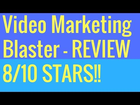 Video Marketing Blaster Review - Inside Look At Video Marketing Blaster. http://bit.ly/2PEpqGL