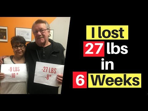 I lost 27 lbs in 6 weeks
