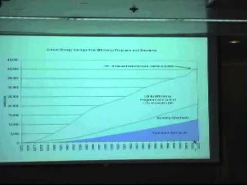 ENERGY EFFICIENCY AND DEMAND RESPONSE, PRESENTED BY ARTHUR ROSENFELD,  CALIFORNIA ENERGY COMMISSION