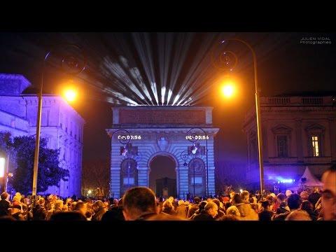 Fête des lumières Montpellier 2015