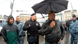 Берегитесь полицию! У них свои законы. Москва, Белорусская, 07.06.2016