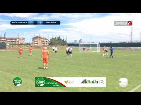 Alitalia Team A 2-1 Unicredit | Alitalia WAFC - Gruppo A | Highlights