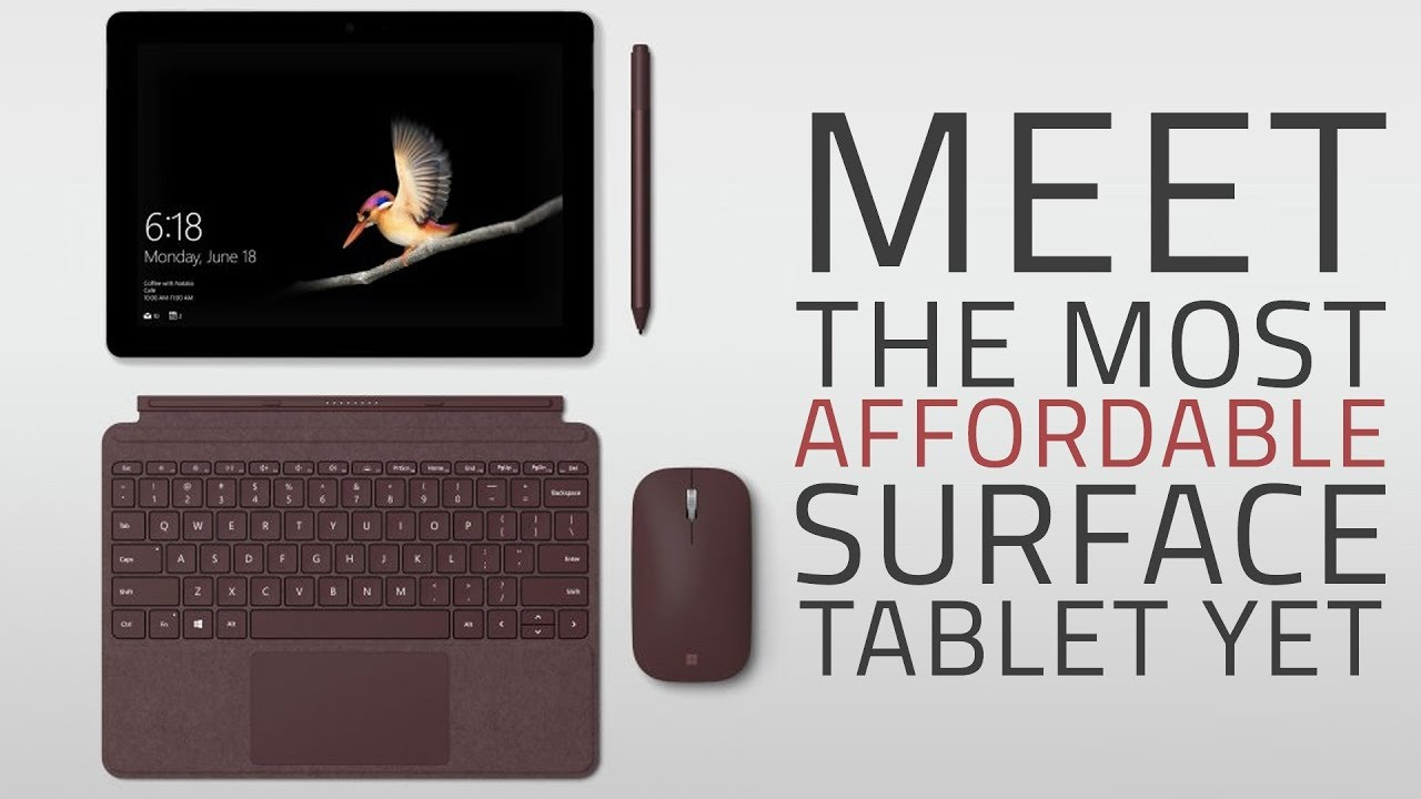 Microsoft Surface Go Budget Windows Tablet | Everything You Need to Know