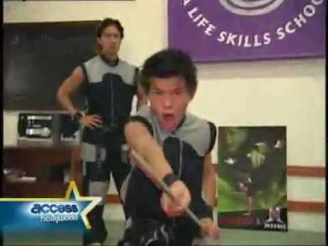 Taylor Lautner Karate aged 13