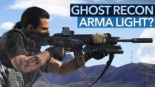 Ghost Recon: Wildlands - Was fehlt zum ARMA Light?