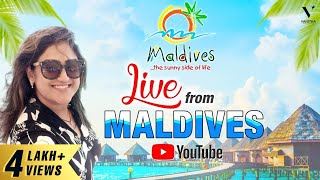 Live Chat from Maldives | Tour Vlog | Vanitha Vijaykumar