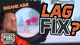 INSANE AIM is BACK! FIX LAG & FREEZING in PUBG Mobile