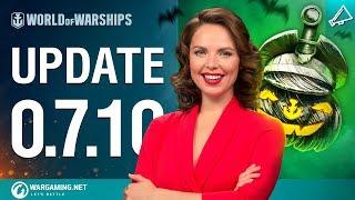 Dasha Presents Update 0.7.10 | World of Warships