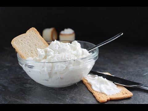 Cómo hacer queso crema casero (Philadelphia) sin lactosa y suero de leche