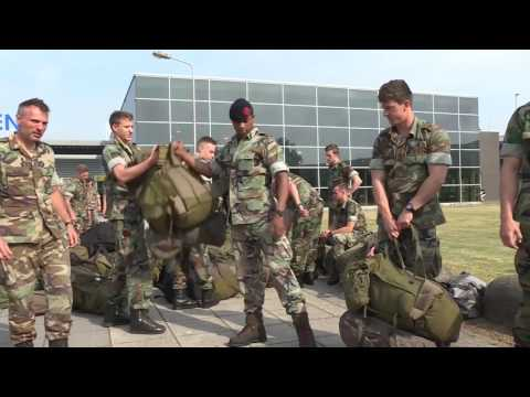 NOBLE JUMP 17 - Dutch Marines depart from Netherlands to Sibiu, Romania