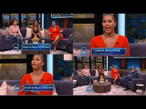 TAMAR BRAXTON Talks DATING After Filing for DIVORCE and CHANGING for VINCE on the Steve Harvey Show!