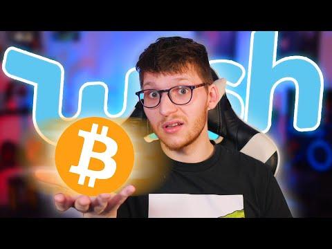 Ich habe Bitcoin auf Wish bestellt