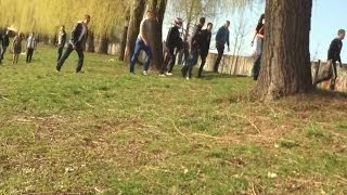 У Коломиї група молодиків влаштувала перегони на озері та била людей