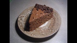 Вафельный торт со сгущенкой. Самый  простой рецепт. Ко Дню Моего Рождения
