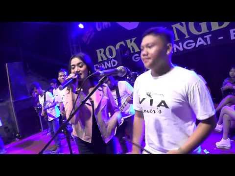 Wegah Kelangan - Hana Monina || OM. VIA Rock Dangdut Live Sumbersari Udanawu Blitar