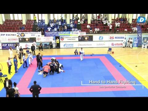 Campionatul mondial de HAND TO HAND FIGHTING finala